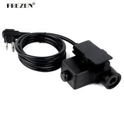 U94 кабель PTT Plug военный адаптер Z113 Стандартный версия для портативной рации для Motorola два контакта радио Охота
