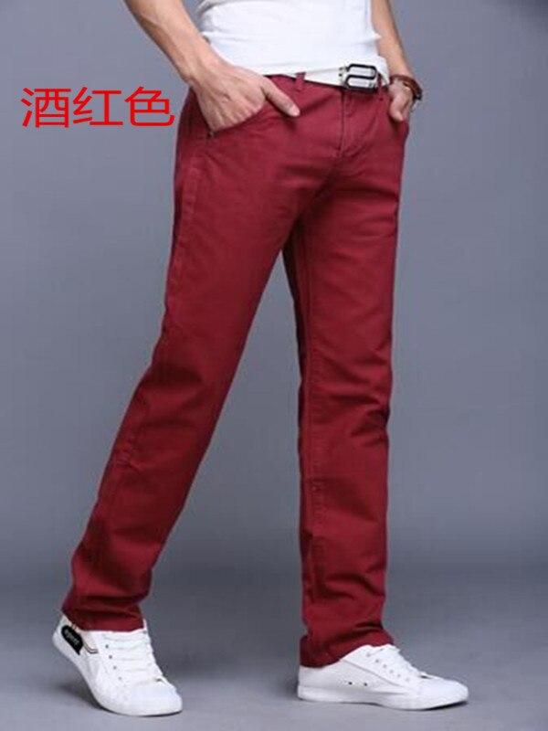 HTB1YIYTaEzrK1RjSspmq6AOdFXaB TANGYAXUAN New Design Casual Men pants Cotton Slim Pant Straight Trousers Fashion Business Solid Khaki Black Pants Men 28-38