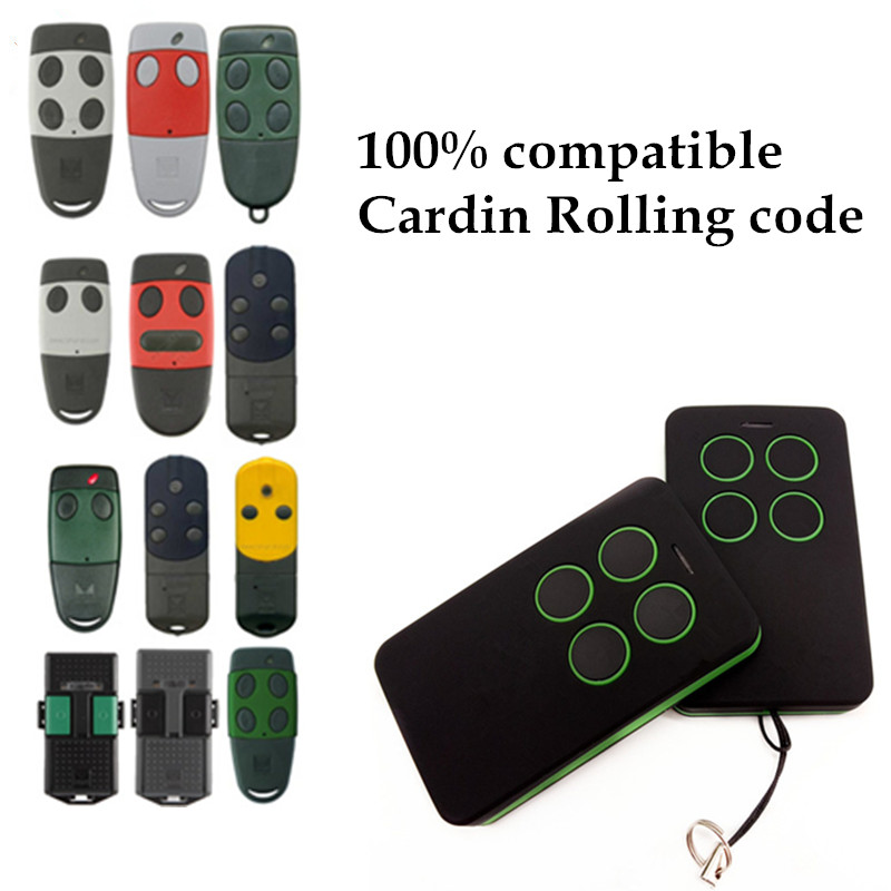 Cheap Cloning Cardin S486 S449 remote control Rolling code Cardin S486 S449 remote control commande garage