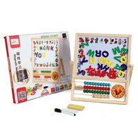 Baby Toys Montessori Wooden Math Toys for Kids abacus Drawing Box Educational Early Learning Toys Child Gift W021