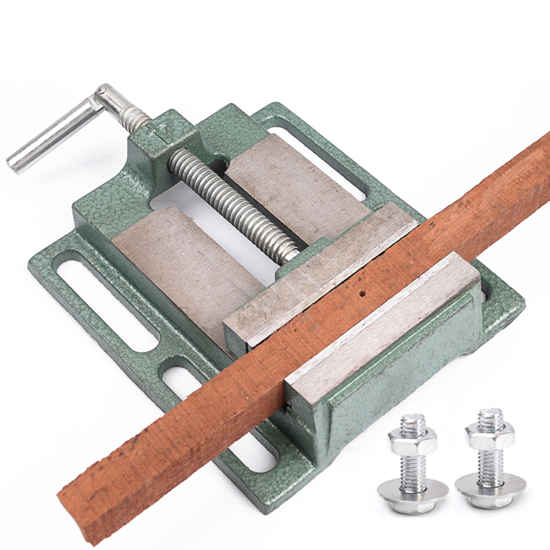 Cast iron Flat Drill Press Vise Woodworking Drilling Clamp tool 2.5/3/4/5/6 толстовка cast iron