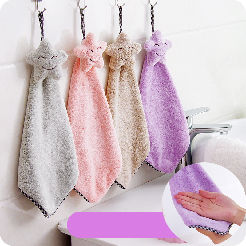 Lovely Stars Hand Towel Towel Quick Dry Mosunx Busines