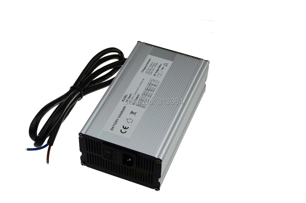 24S Lipo/Li-ion Lithium Battery Charger 100V (100.8V)  5-6Amp  600W Aluminum Electric Vehicle Charger 30a 3s polymer lithium battery cell charger protection board pcb 18650 li ion lithium battery charging module 12 8 16v