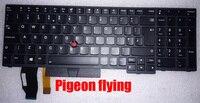 Apply to Thinkpad E580 E585 L580 T590 E590 laptop Keyboard UKE(GB) FRU 01YP708 01YP788 01YP628 LED backlight New original
