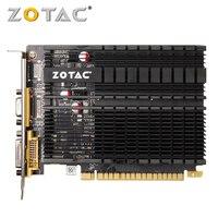 ZOTAC GPU Video Card GeForce GT610 1GB GDDR3 Graphics Cards GPU Map For NVIDIA Original GT 610 1GD3 64Bit Dvi VGA PCI E