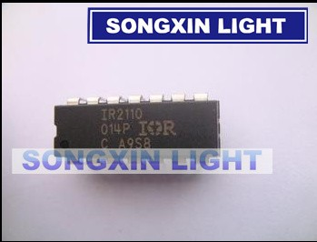 5PCS HIGH//LOW DRIVER IC IR DIP-14 IR2110 IR2110PBF