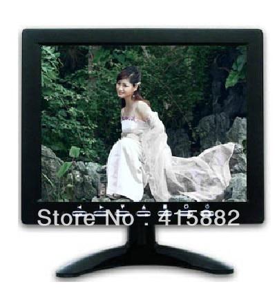 2013 New ! 8 inch  lcd cctv  monitor with AV /VGA/BNC  in, TFT  LED panel +  free shipping