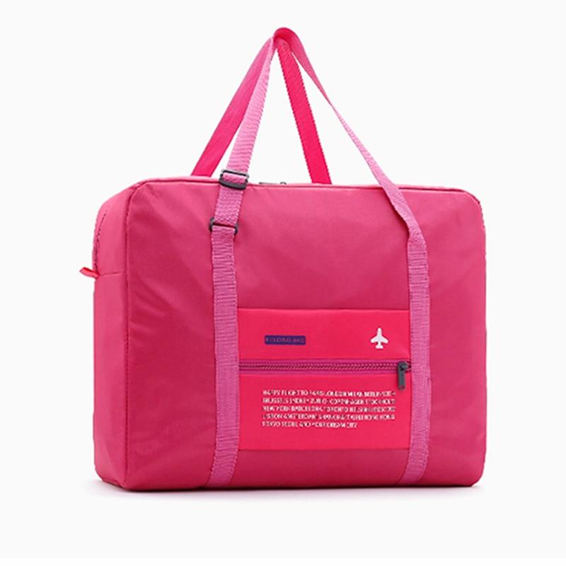 New Travel Bags WaterProof Travel Folding Bag Large Capacity Bag Luggage Women Nylon Folding Bag Travel Handbags Wholesale Price