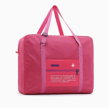 New Travel Bags WaterProof Travel Folding Bag Large Capacity Bag Luggage Women Nylon Folding Bag Travel Handbags Wholesale Price(China)
