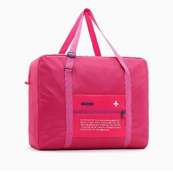 New Travel Bags WaterProof Travel Folding Bag Large Capacity Bag Luggage Women Nylon Folding Bag Travel Handbags Wholesale Price Travel Bags & Luggage