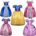 Roupas de Bebê Menina quente de Verão do bebê Meninas vestidos de Princesa Vestidos de Cinderela Traje Cosplay 5 estilo da Roupa Do Bebê Para Meninas