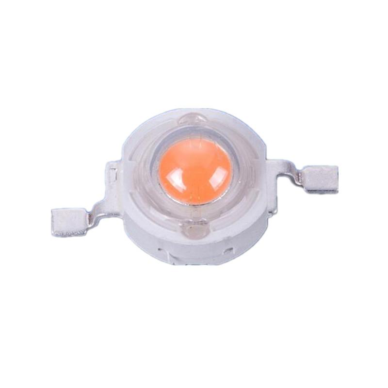 50pcs 3W high power led Lamp Bead plant grow light Bulb full spectrum 400-840nm 45MIL Chip 3-3.6 700mA 180-200LM Free shipping free shipping 50pcs mje15033g 50pcs mje15032g mje15033 mje15032 to 220