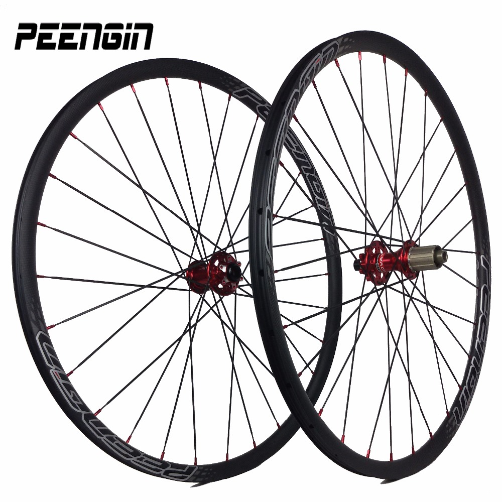 1290g ONLY! carbone route roues Chinese mtb 26 carbon wheels competitive mountain wheelsets 26er cross country neat rim sufaces