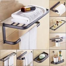 купить Bathroom Accessories Sets Oil Rubbed Bronze, Paper Towel Rack, Toilet Brush Holder, Towel Bar, Towel Rack, Soap Dish ZD1134 по цене 1467.14 рублей