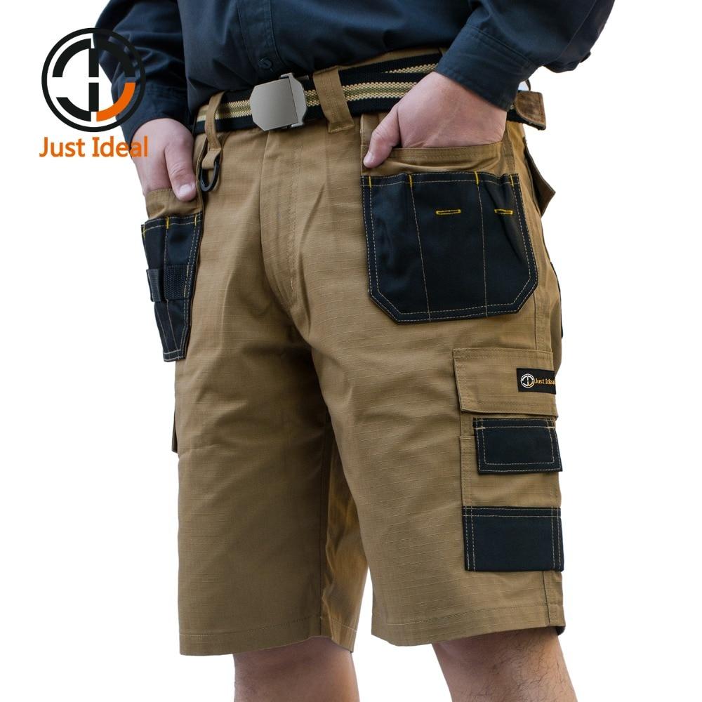 2020 Men Tactical Shorts Military Oxford Waterproof Rip Stop Short Multi Pocket Trousers Men Summer Bermuda Plus size ID625