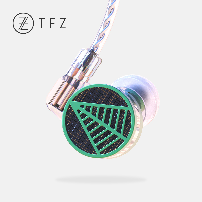 TFZ TEQUILA 1 HiFi Professional Monitor In-Ear Earphones with 2pin/0.78mm 5N Oxygen-free Detachable Copper Cables fashion professional in ear earphones light blue black 3 5mm plug 120cm cable