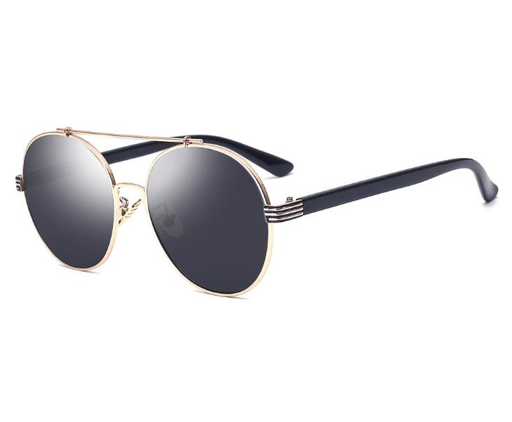 da165799fca8d men Vintage Fashion Round Sunglasses For Big Face Women, Circle Metal  Reflective Mirror Sun Glasses For Ladies oculos feminino