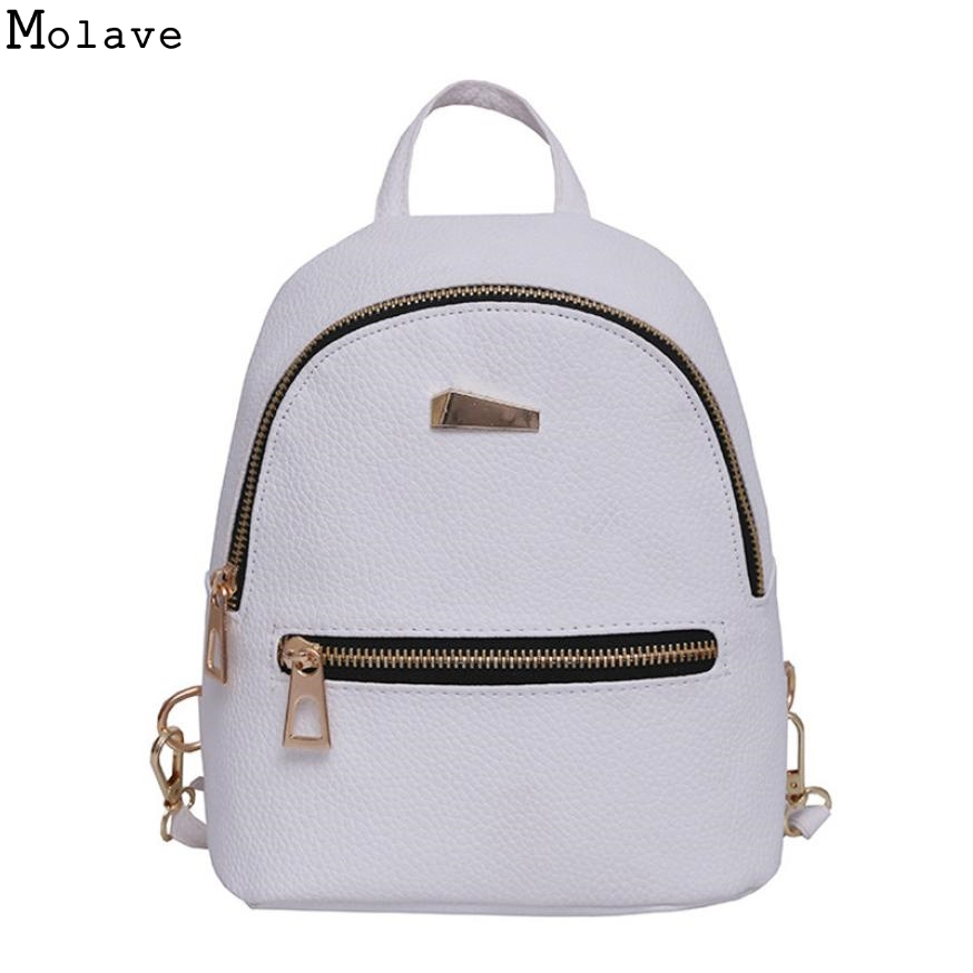 Women Backpack Small Size PU Leather Womens Backpacks Fashion School Girls Bags Female Back Pack Famous Brand mochilas May15