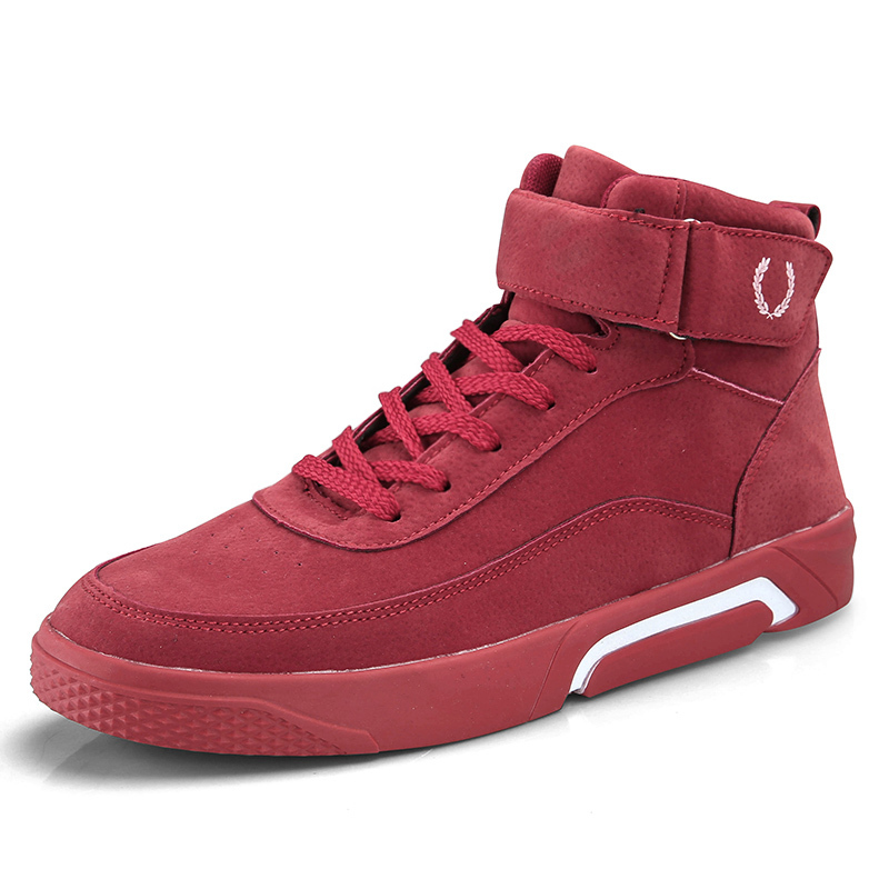 Bravover Men Shoes Casual Sneakers High Top Fashion Footwear Male Cool High Top Shoes High Quality