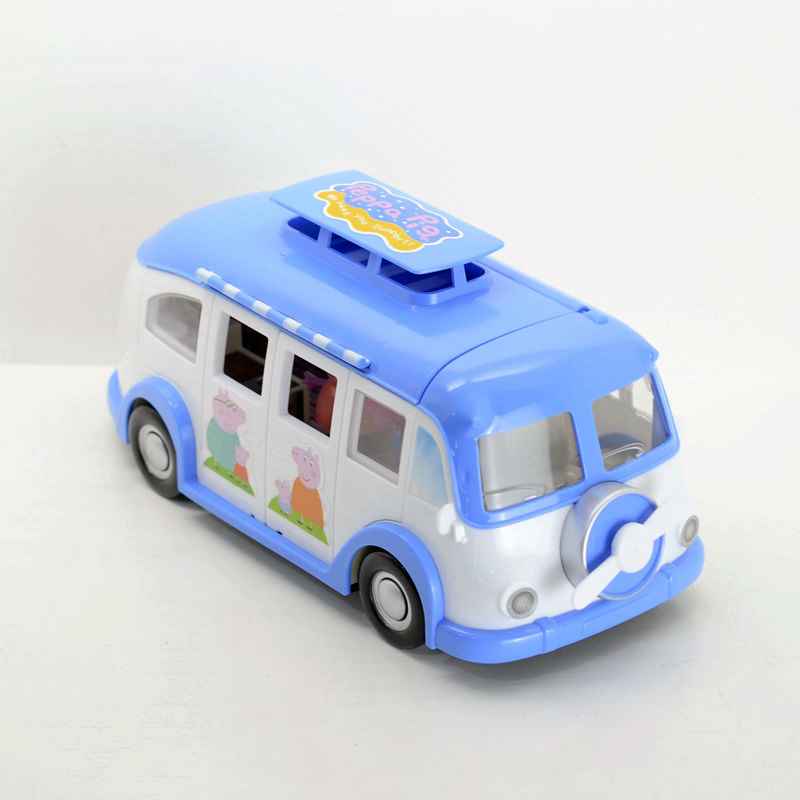 2015 4pcs/set Peppa Pig Girl Toys Family Car Camping Set Anime Action  Figures Kids Toys PVC 26CM Hot Sale Free Shipping-in Action & Toy Figures  from Toys ...