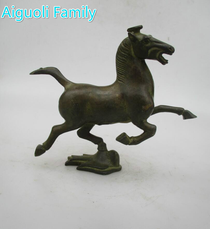 Ancient Oriental Art Horse Chinese old bronze Carved horse Statue/ Metal animals SculptureAncient Oriental Art Horse Chinese old bronze Carved horse Statue/ Metal animals Sculpture