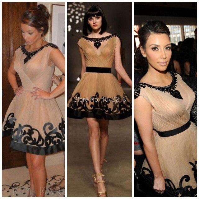 Kim Kardashian Sexy Cocktailkleid Elegante Gossip Girl Abschlussball ...
