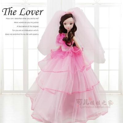 ФОТО 27.5cm  Original  kurhn doll Wedding Series   Brinquedos Meninas Bonecas Children Christmas Gift Kid Hobby  9083