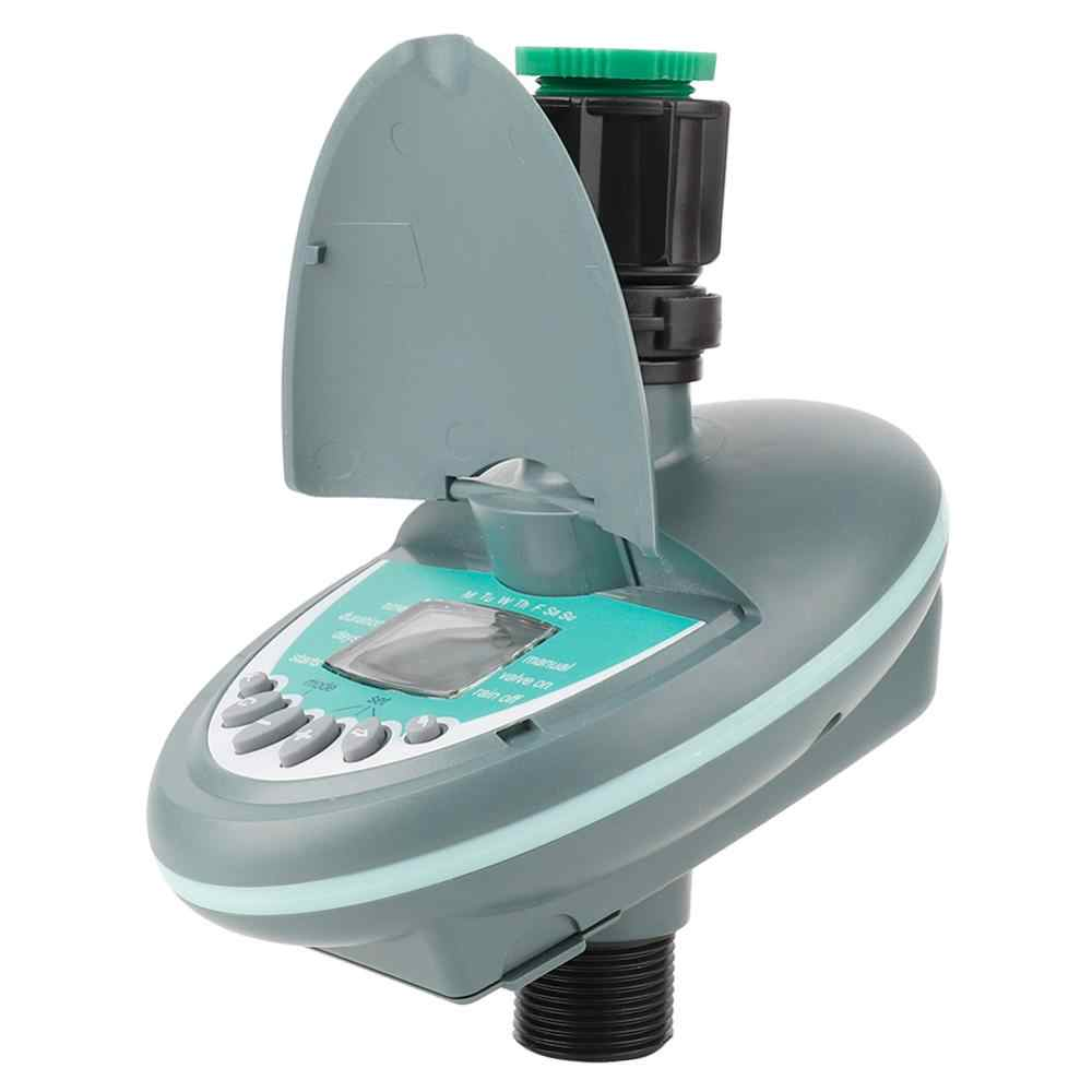 """G3/4 """"otomatik bahçe zamanlayıcı akıllı lcd ekran elektronik bahçe su zamanlayıcı sulama sulama sistemi kontrolörü sıcak"""