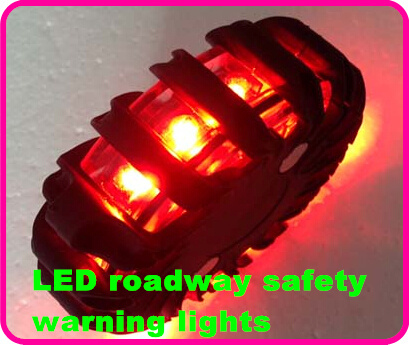 Higher star Rechargeable 16 LED roadway safety car warning lights,emergency light,beacon,truck anti-collision light,waterproof