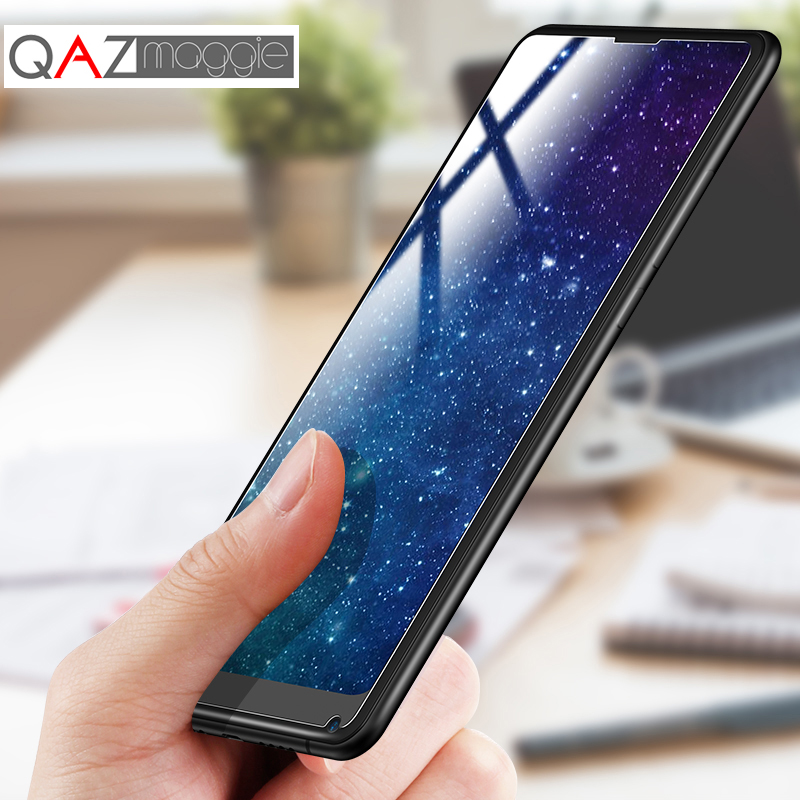 Xiaomi Mi Mix 3 Tempered Glass Mi Mix 2S Glass Clear HD Fingerprint proof Front Film for Xiaomi Mi Mix 2 2S