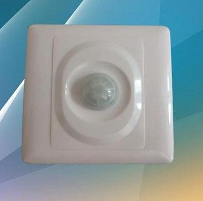 Автоматический инфракрасный PIR датчик движения переключатель для домашнего офиса светодиодный светильник 2019 новый датчик движения перекл...