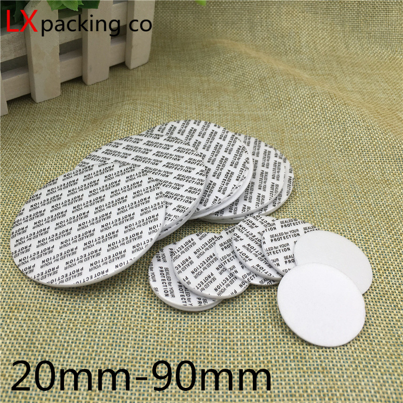 Free Shipping Sealing Stickers Self Adhesive Seals To Stop Leak Packaging Bottles Accessories Cosmetics Bottles Of Accessories