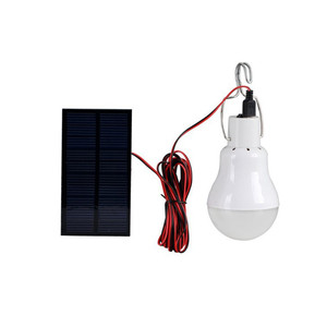 New 2019 High Quality Portable Solar LED Bulb Solar Bulb Lamp Focus With 0.8W Solar Panel For Outdoor#30#10(China)