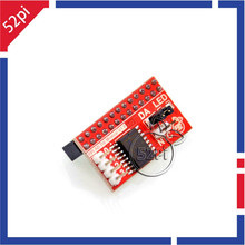 AD/DA Module GPIO Expansion Board for Banana Pi / Raspberry Pi B+ / Raspberry Pi 2 Model B