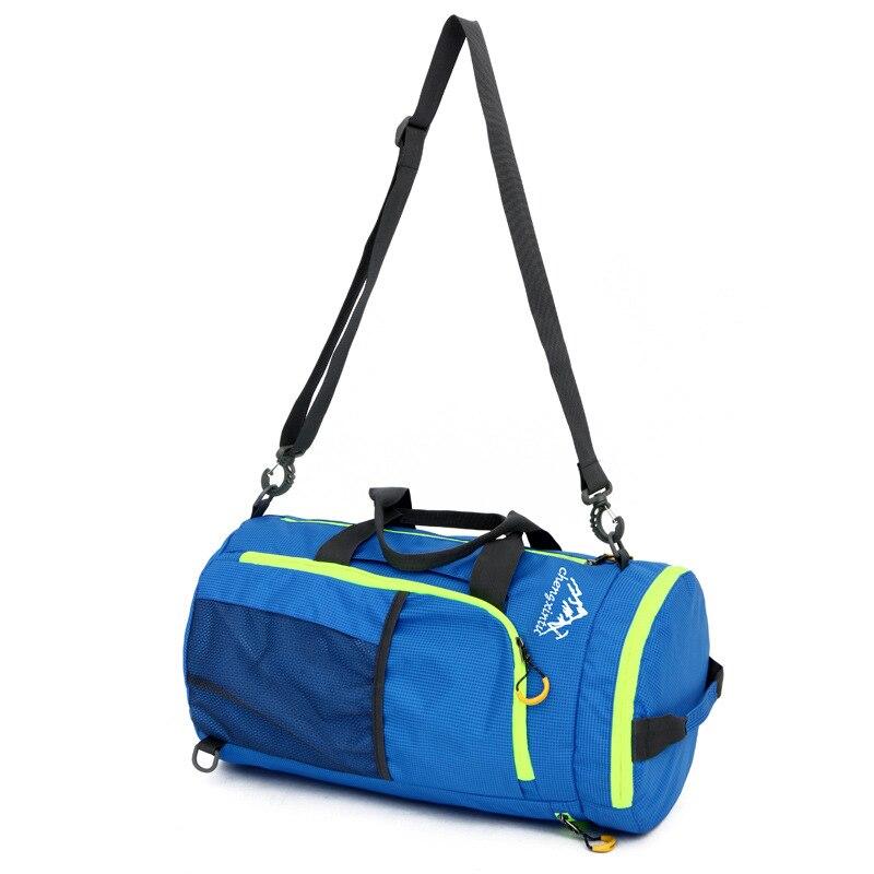 Prix pour Voyage en plein air sac à main pliable sac à dos grande capacité une épaule sac à bandoulière sac de remise en forme