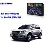 Liislee Auto HUD Head Up Display OBD2 Interface S7 Für Haval 2013 2018 Erinnern fahren abstand