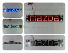 mazda2 mazda3 mazda6 mazda5 mazda8 cx-5 9 axela atenza led car logo third brake light additional lights