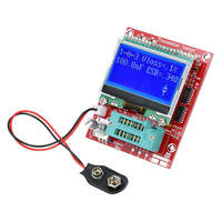 Transistor Tester Multifunctional Resistance Inductance Diode Capacitance ESR Frequency Meter PWM Square Wave Signal Generator
