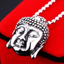 BEIER Unique Style Stainless steel Buddha Lucky Amulet Pendant good luck necklace Necklace For Women Men`s Jewelry WR-P031(China)