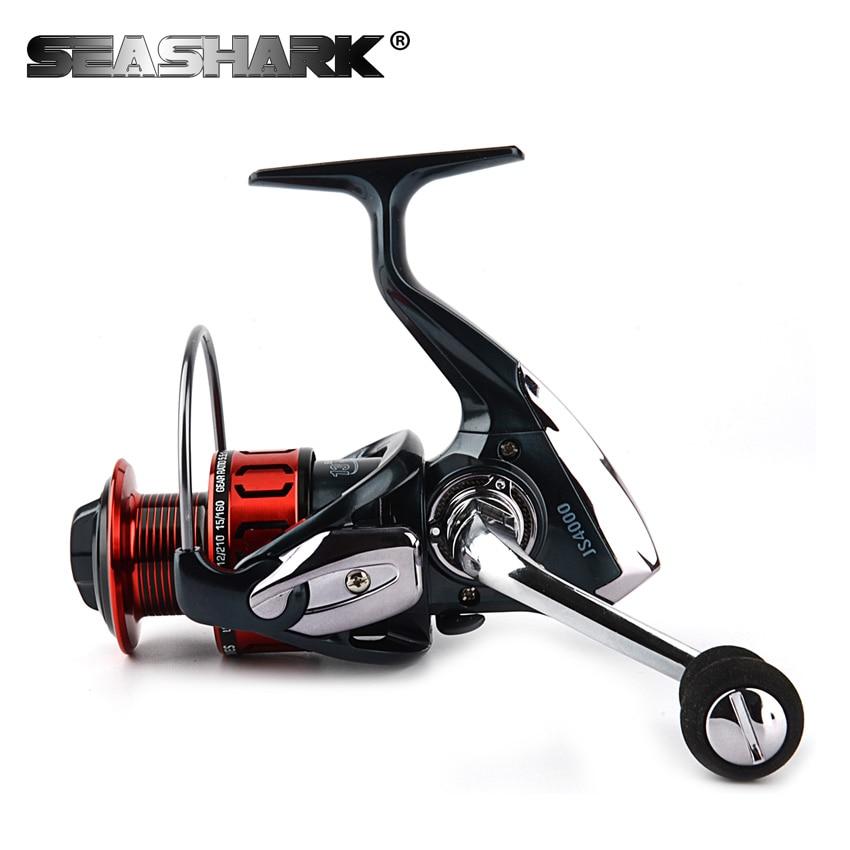 Seashark all metal 13 1bb spinning fishing reel eva handle for 13 fishing spinning reels