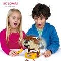 CAUTION Vicious Dog Tricky Joke Toy Novelty & Gag Toys Bullfight Dog Family Funny Game Anti Stress Prank Halloween Toys