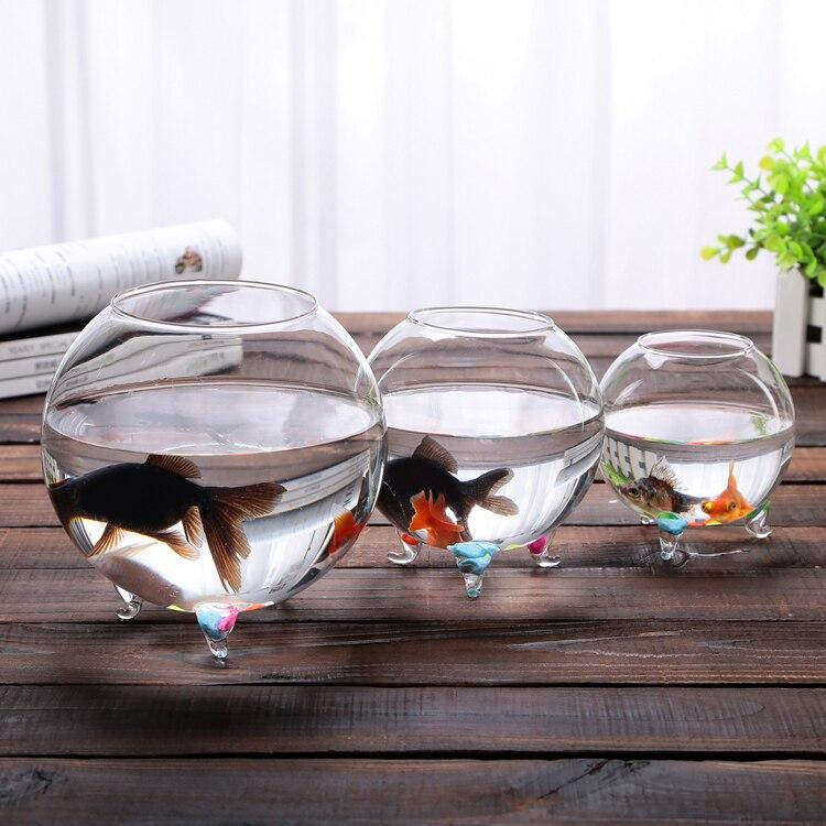 2015 Hot Clear Glass Bowl Fish Tank Succulent Vase Terrarium