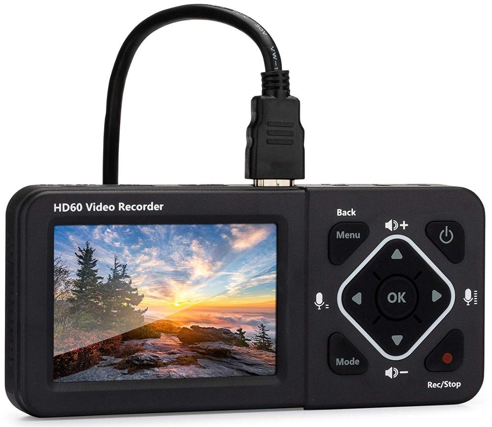 HD60/D720 Video Recorder Record Full HD Videos HD Video Capture Box Ultimate-Capture Video From HDMI, RCA, VHS, VCR, DVD, Screen