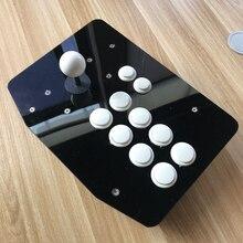 Botões brancos preto arcade joysticks Game Controller para o jogo de computador Lutadores de Rua