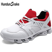 Hundunsnake Outdoor Men's Running Shoes Trail Chaussure Homme Sport Shoes Women White Mens Sports Shoes Men's Sneakers Gym T285