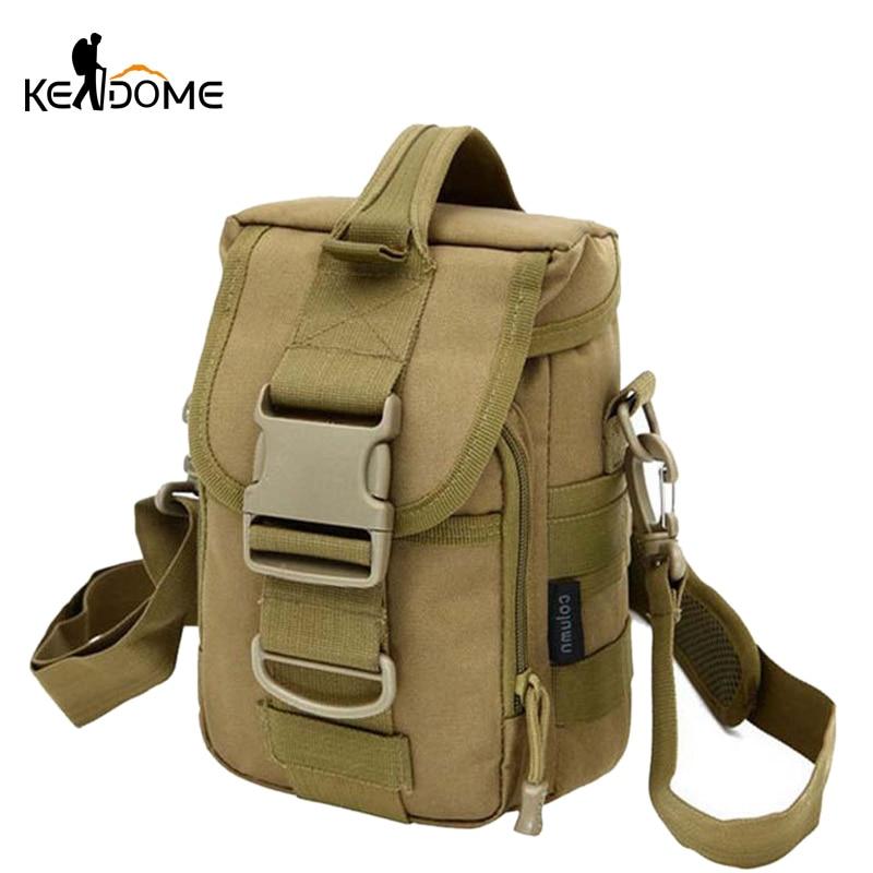 2019 New Molle Tactical Military Bag Tactical Shoulder Bag Sport Nylon Waterproof Military Handbags Camping Outdoor Bag XA226WD