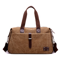 Vintage Military Canvas High Quality Men Travel Bags Carry Luggage Bags Men Duffel Bag Travel Tote