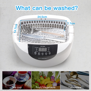 Image 5 - GTSONIC VGT 6250 Digital Ultrasonic cleaner 2500ML for Fruits Vegetables Home Kitchen Ultrasonic Baths