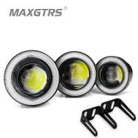 2x 3 5 Inch 89mm 30W Led COB White Fog Lamp Car Auto Blue White Angel