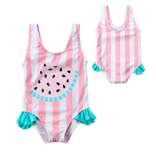 Girl Bathing Suit - Watermelon - Watermelon